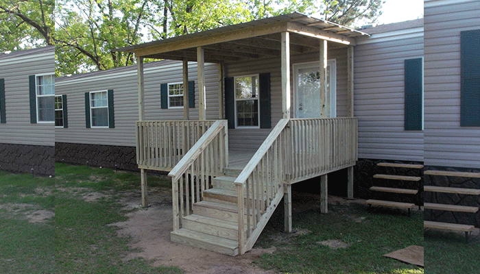 Attach A Porch Roof To A Mobile Home