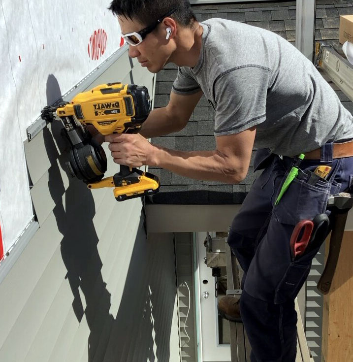 Can You Use A Roofing Nailer For Siding