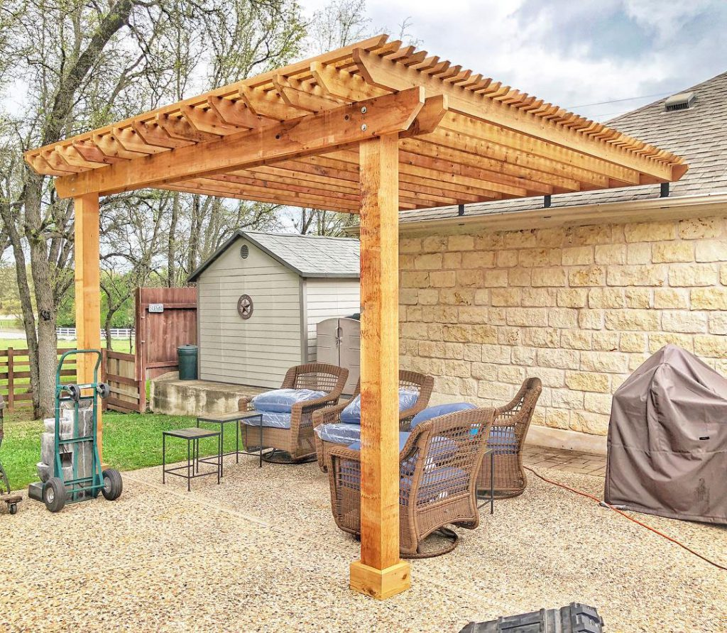 How To Attach A Pergola To A Roof