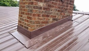 How To Seal A Metal Roof Around A Chimney