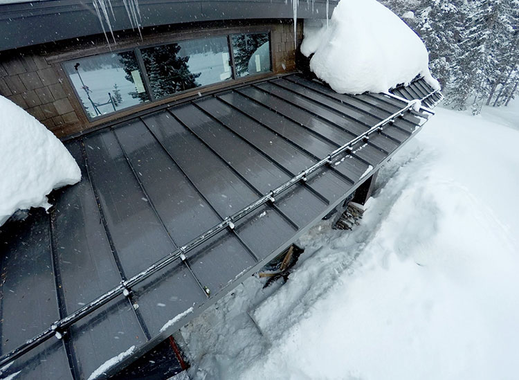 How To Install Heat Cable On Metal Roof