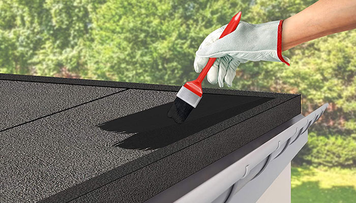 Can You Paint Roofing Felt