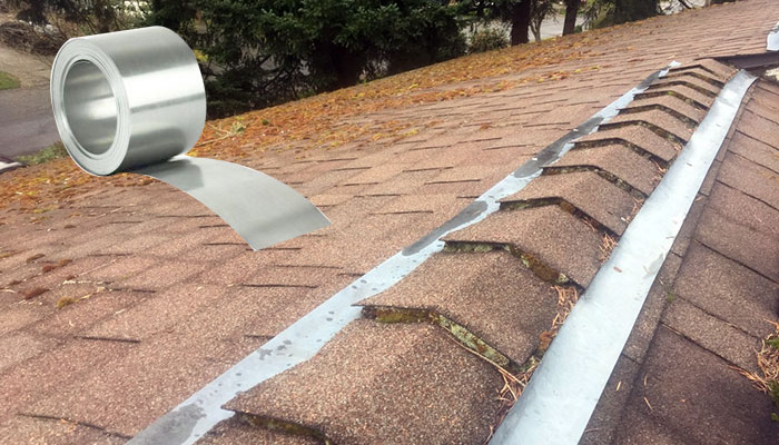 How To Install Zinc Strips On Roof