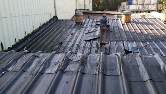 How To Remove Roofing Tar From Metal