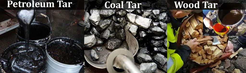 Where Does Roofing Tar Come From